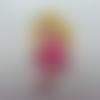 Cabochon  princesse aurore belle au bois dormant  17*45mm