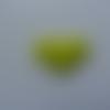 Coeur   en feutre rembourré  épaisseur 1mm  32*32mm vert