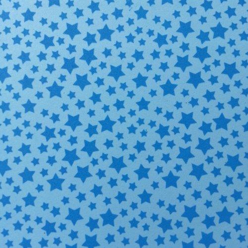 Feuille de mousse étoilée 21*29.7cm bleu