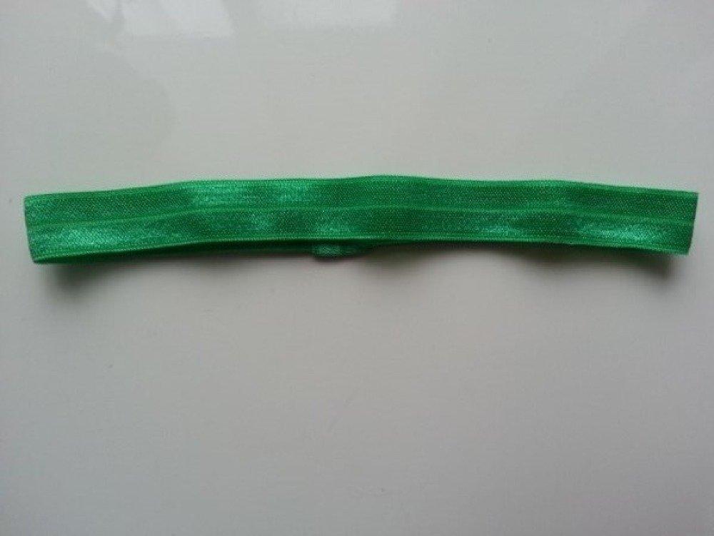bandeau cheveux  elastique extensible  de couleur vert  idéal pour bébé