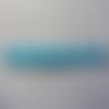 Bandeau elastique cheveux bleu à pois blanc