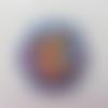 Cabochon plat en résine fée clochette  45 * 35mm