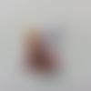 Cabochon plat en résine fée clochette 23*40mm