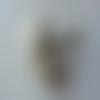 Bouquet de 10 mini boules de noel sur tige ivoire