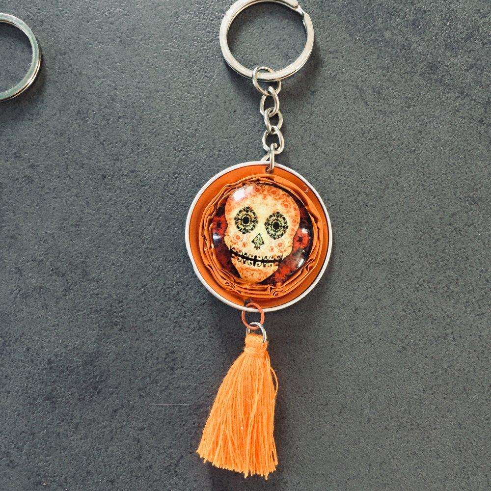 Porte clé skull 2