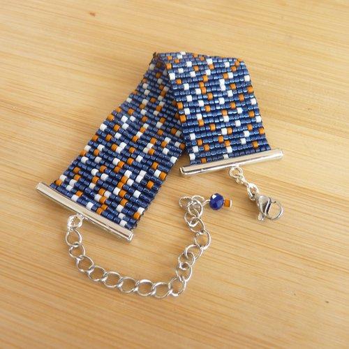 Bracelet manchette «constellation»