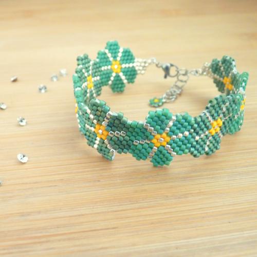 Bracelet manchette « gallina »