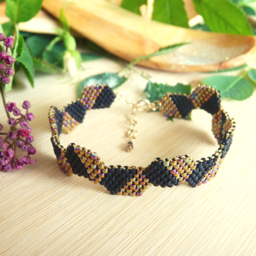 Bracelet manchette « alhéna »