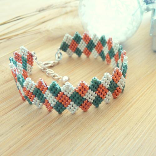 Bracelet manchette «alya»