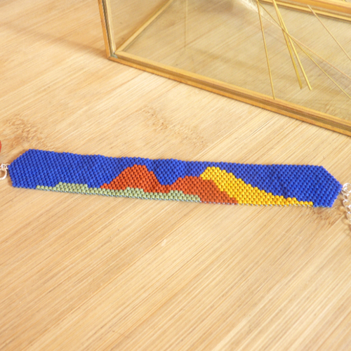 Bracelet manchette «dune»