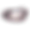 Bracelet nautique corde noir ancre marine dorée, crochet poisson pour homme et femme, unisexe