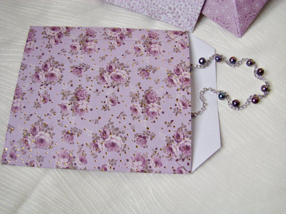 Pochettes papier cadeau de luxe