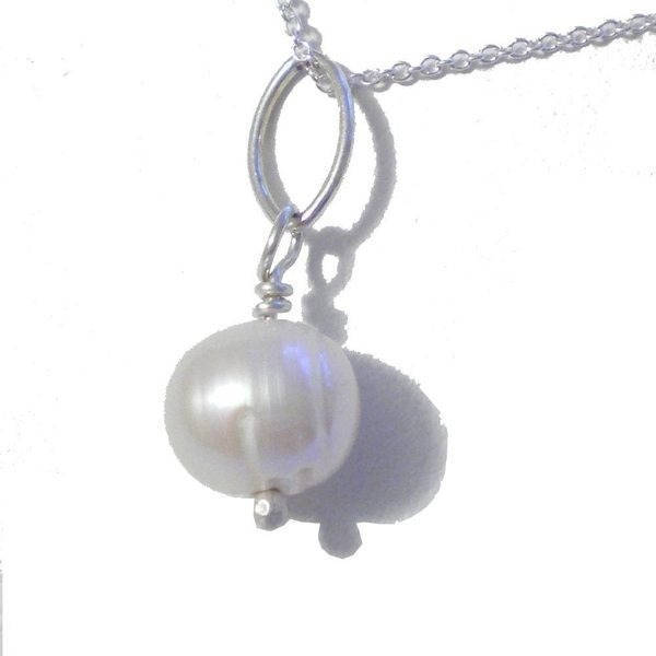 Mes Belles Perles Boucles d'Oreilles en argent massif