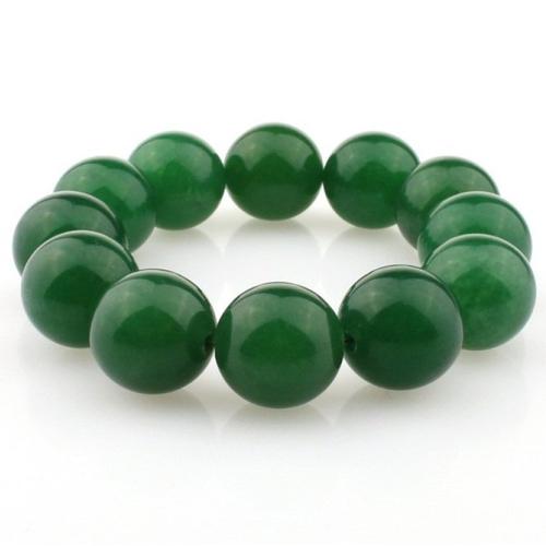 Bracelet jade véritable vert original