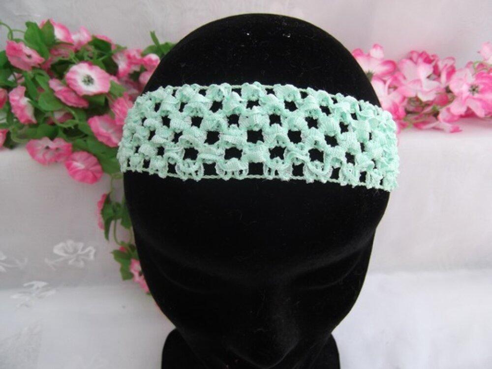 1 Serre tête Bandeau Vert Pâle