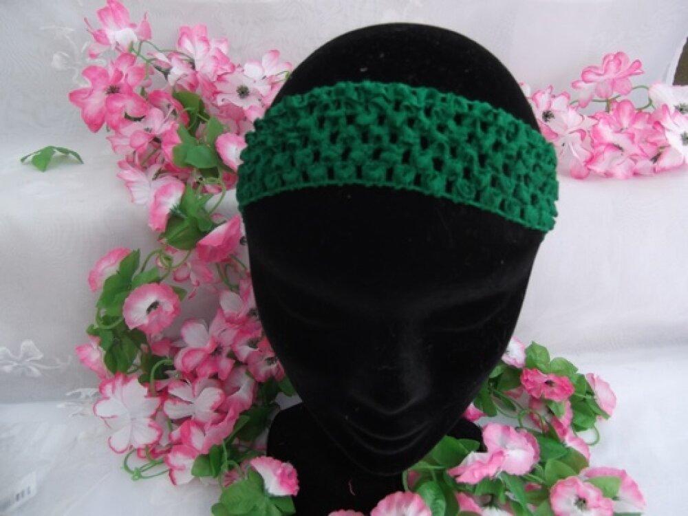 1 Serre tête Bandeau Vert Foncé