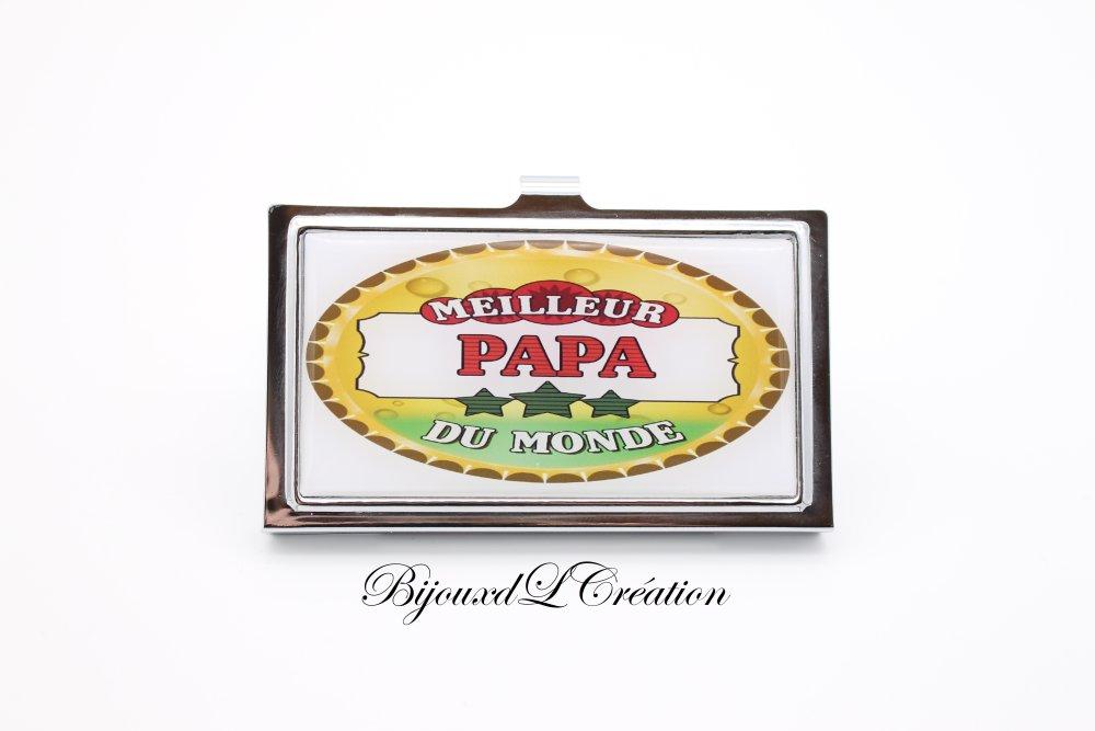 Boitier carte bancaire papa