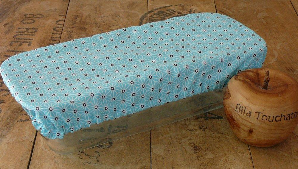 Charlotte pour moule à cake, zéro déchet, en coton enduit