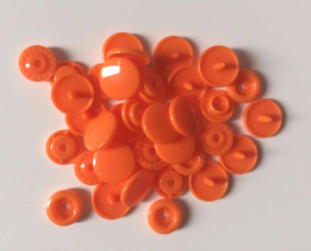 Pression kam T5 orange lot de 10