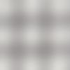 Lin 10 fils gander blanc cassé quadrillé gris 50x50cm