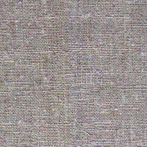 Lin rustique 12 fils bistre 50x40cm