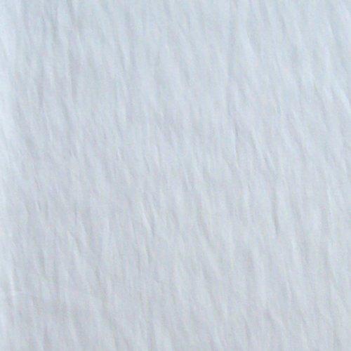 Tissu fin blanc cassé 110x80cm