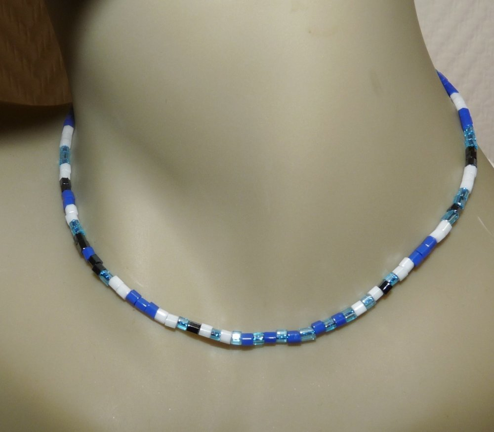 collier femme avec petite perle