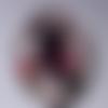 Cabochon de verre ovale 18x25 mm buste
