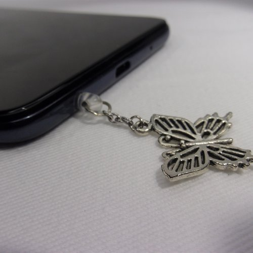 Bijoux de portable papillon