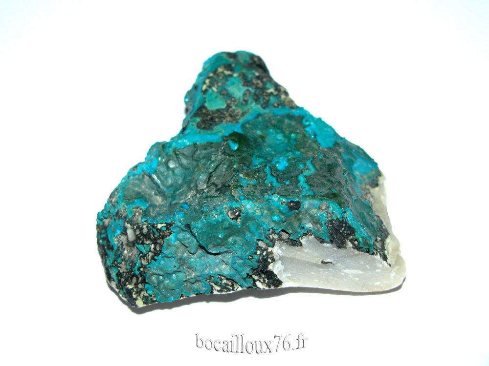 CHRYSOCOLLE J333 - CONGO - COLLECTION MINERAUX