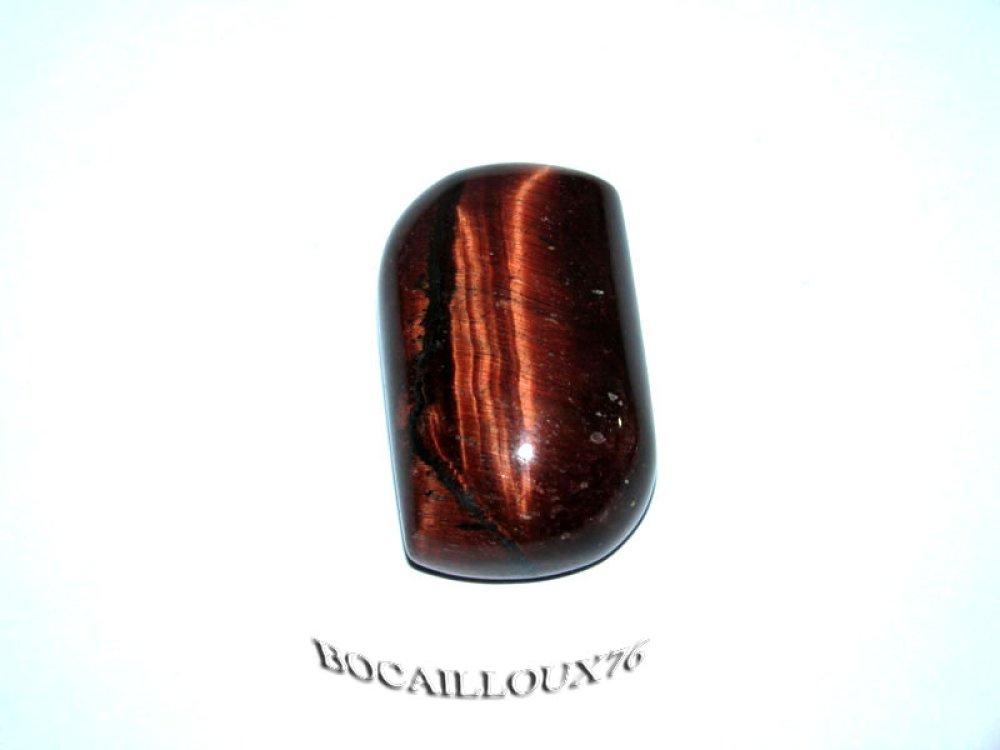 CABOCHON 29x18x10 OEIL de Taureau 2* Baroque - Pour CREATION