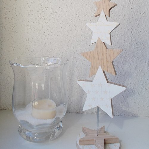 Ornement Sapin De Noel Petit sapin ornement de table de noël   déco de noël sapin en bois