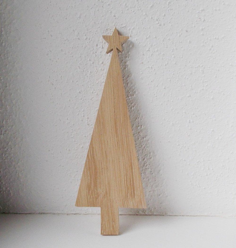 Sapin De Noel Suspendu En Bois sapin de noël en bois massif - décor à poser ou à suspendre