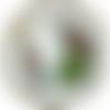 Miroir en corde de coton naturel blanc pur , deco cotiere, marine