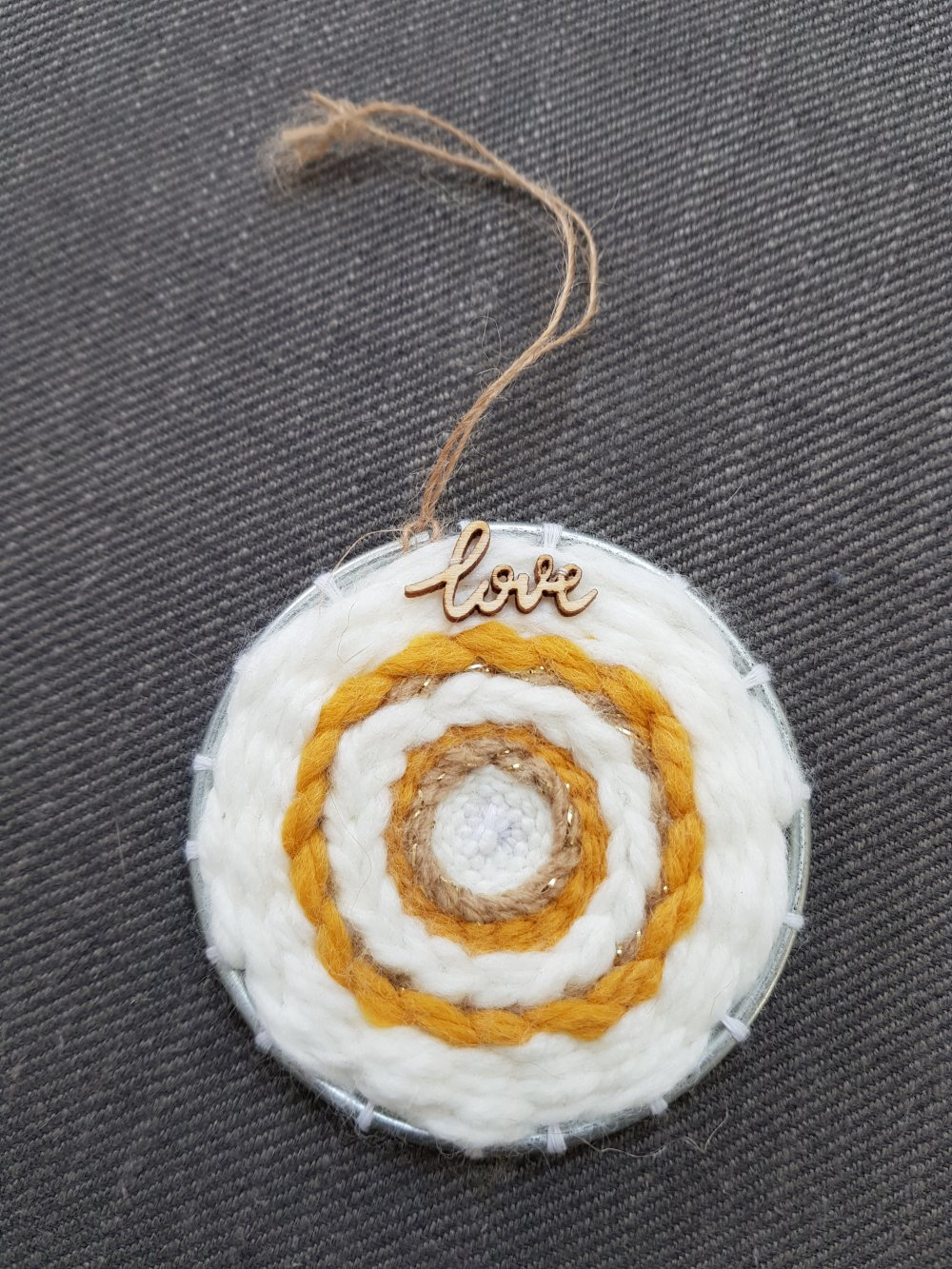Mini tissage circulaire