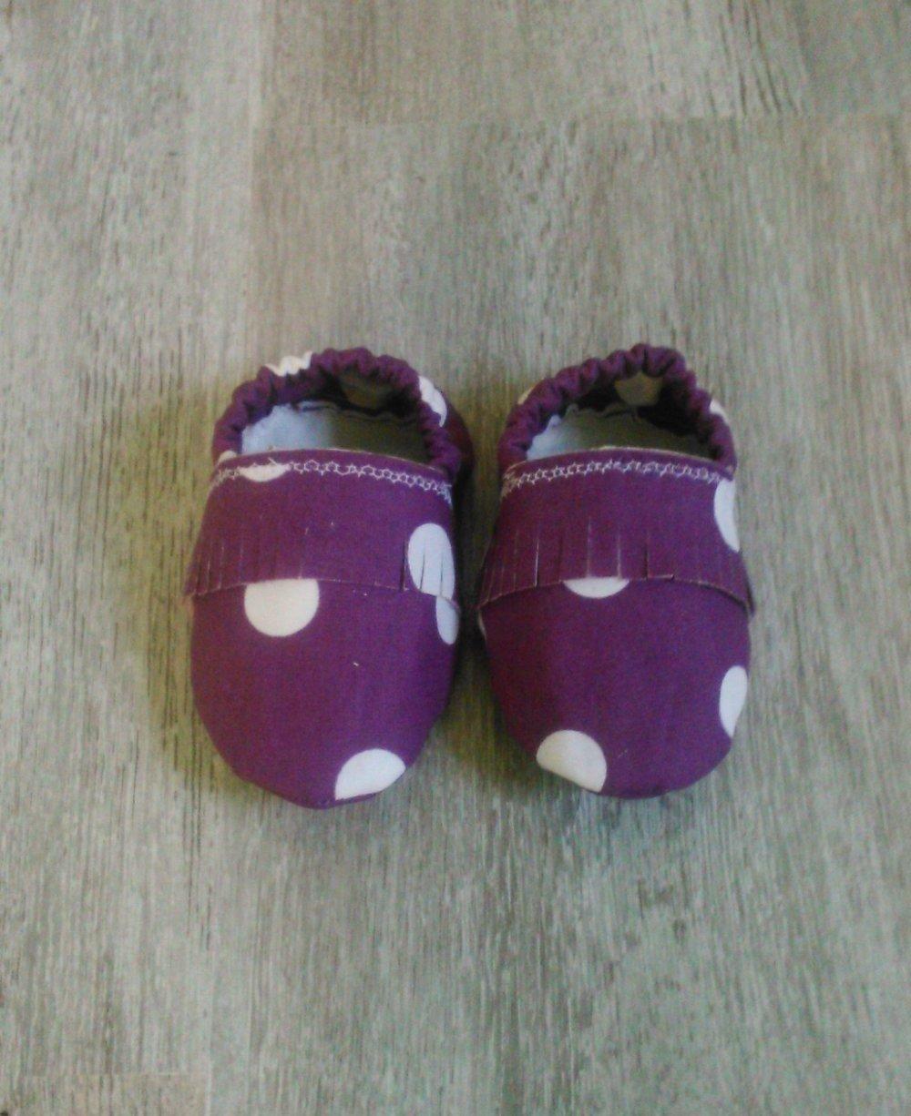 Chaussons mocassins pour bébés
