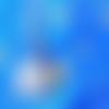 Chaîne de cheville motif arbre de vie en inox.