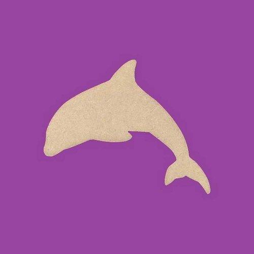 Support a decorer en bois mdf dauphin