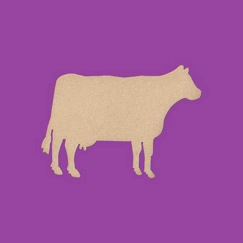 Support a decorer en bois mdf vache