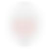 Embellissements scrapbooking - fleurs en résine autocollantes - couleur rose poudré - craft consortium