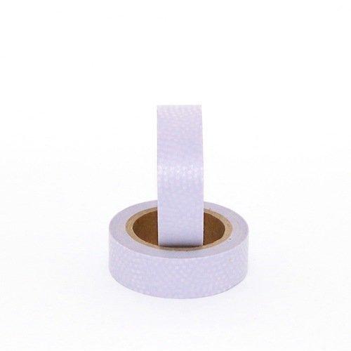 Masking tape - pointillés / peau de serpent - parme - 10 m