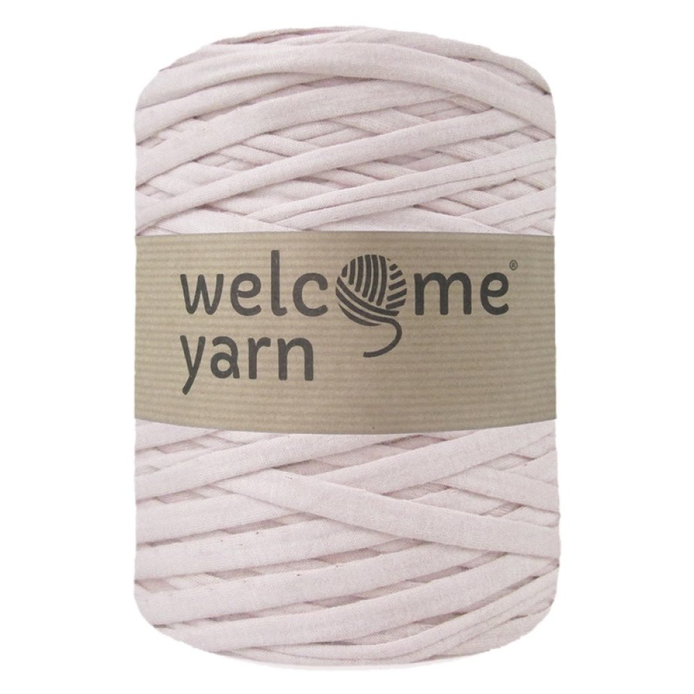 Bobine fil trapilho, Welcome Yarn, vieux rose, lirette, crochet, tawashi, Portugal, 125m, x1