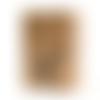 Tampon en bois - lapin - toga - 3,5 x 5 cm