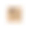 Tampon en bois - un jour plus que parfait - florilèges design - 5 x 7 cm