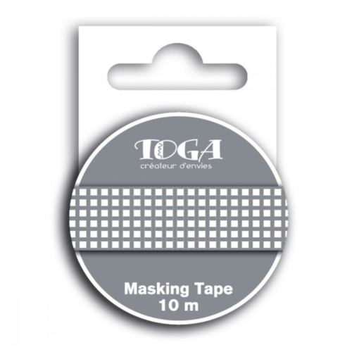 Masking tape - vichy taupe - toga