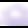Lot 10 perles en verre - parme - 10 mm
