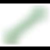 Lot 10 perles en verre - vert - 8 mm