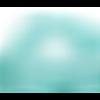 Lot 10 perles en verre à facettes - bleu - 10 x 8 mm