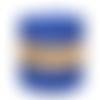 Bobine de fil recyclé trapilho - maille piquée - bleu - 120 m - welcome yarn