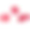 1 cabochon imitation agate - rose - 13 x 18 mm